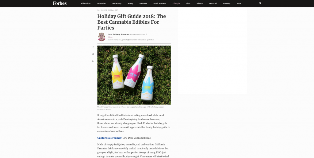 Forbes Holiday Gift Guide